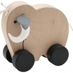 Kids Concept puidust ratastel mammut