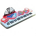Mängu klaver - süntesaator valge