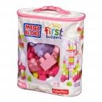 Fisher-Price Mega Bloks suur klotsikott 80tk roosa