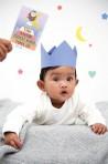 Milestone fotokaardid-ainulaadne beebi