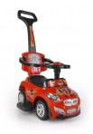 Milly Mally pealeistutav tõukeauto Happy punane