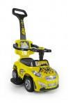 Milly Mally pealeistutav tõukeauto Happy kollane