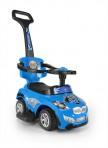 Milly Mally pealeistutav tõukeauto Happy sinine