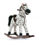 Milly Mally kiikhobune Mustang valge täpiline