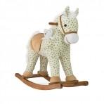 Milly Mally kiikhobune Pony hall täppidega