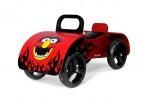 Milly Mally puidust pealeistutav auto Junior punane