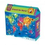 Mudpuppy 63-osaline pusle Ümber Maailma