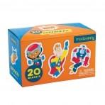Mudpuppy karp magneetiliste kujunditega Superhero
