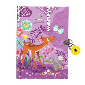 Mudpuppy lukustatav päevik Metsloomad