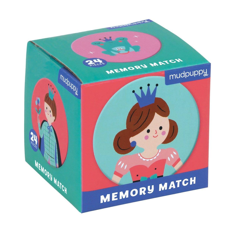Mudpuppy mini memory mäng Lummav Printsess