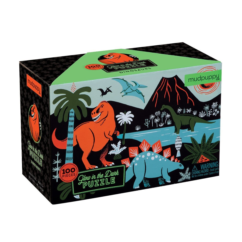 Mudpuppy pimedas helendav pusle Dinosaurused