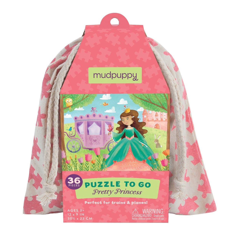 Mudpuppy pusle riidest kotis Printsess