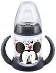 Nuk õppimispudel Disney silikoon 150 ml 1tk must