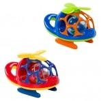 Oball mänguasi Helikopter kõristiga