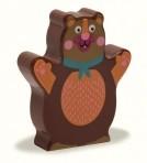 Oops puidust kõristi Karu
