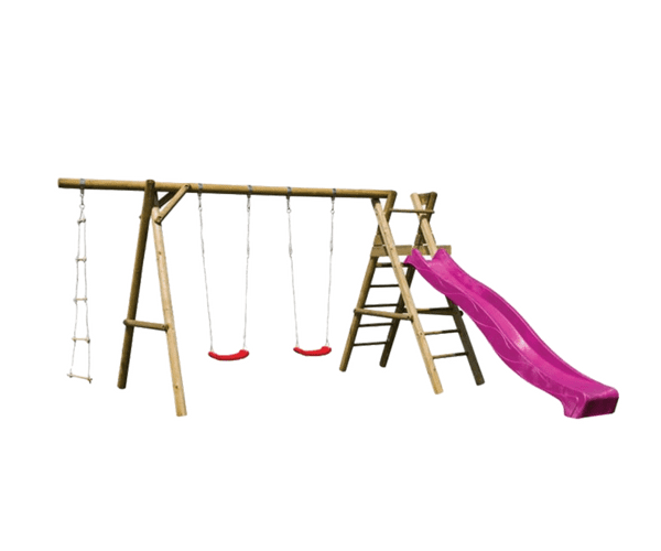 Mänguväljak Henry + liumägi 2.9m (värvivalik) + F-ankrud TASUTA TRANSPORT