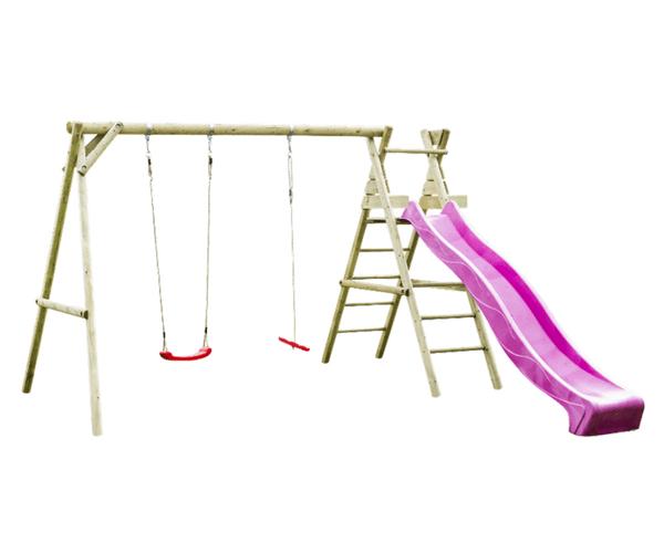 Mänguväljak Holger + liumägi 2.9m (värvivalik) + F-ankrud TASUTA TRANSPORT