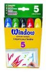 Crayola klaasile värvimise vildikad