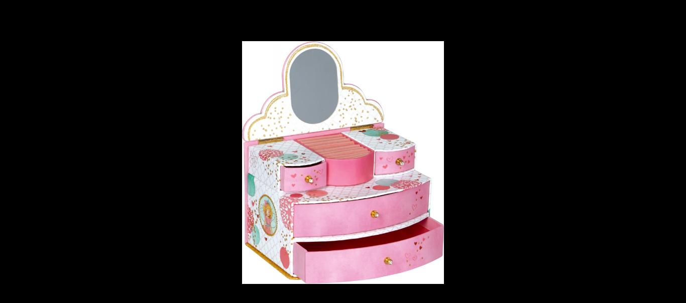 Printsess Lillifee mini kummut-ehtekarp Täheke