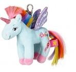 Printsess Lillifee pehme mänguasi-võtmehoidja Vikerkaare-Ükssarv Kosmo