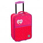 Printsess Lillifee väike ratastega kohver, punane