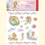 Printsess Lillifee tätoveeringud delfiiniga