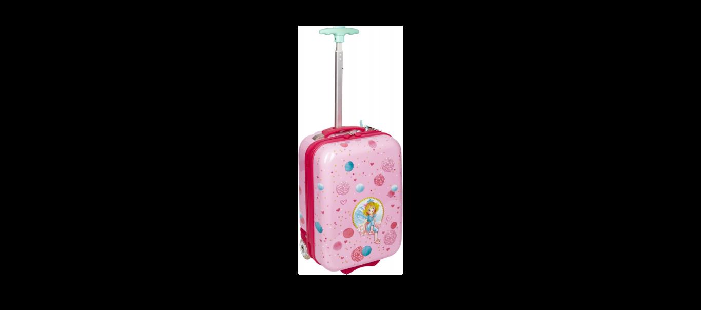 Printsess Lillifee väike reisikohver LED-tuledega