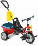 Puky kolmerattaline jalgratas Cat 1SP punane-sinine