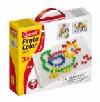 Quercetti mosaiigikohver Fantacolor basic 100 nuppu