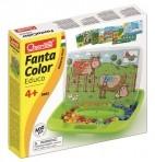 Quercetti nupumäng Fanta Color Educo 400-osa