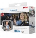Reer BabyView LED-valgustusega auto turvapeegel