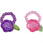 Printsess Lillifee pärlitest sõrmus roosiga