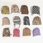 Sass & Belle riidest kokkuklapitav ostukott Vintage 1 tk ERINEVAD -30% LADU TÜHJAKS!