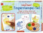 Seitse Sõpra sõrmevärvide komplekt piltidega