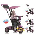 Smart Trike kolmerattaline jalgratas Star roosa