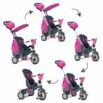 Smart Trike kolmerattaline roosa Splasch