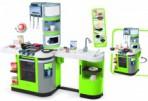Smoby elektrooniline köök Cookmaster, roheline