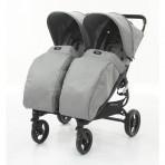 Valco Baby jalutuskäru Snap Duo  jalakate Cool Grey
