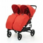 Valco Baby jalutuskäru Snap Duo  jalakate Fire Red
