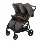 Valco Baby kaksikute kergkäru Snap Duo Trend Charcoal