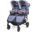 Valco Baby kaksikute kergkäru Snap Duo Trend Denim