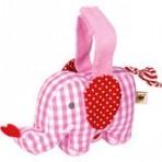 Mini muusikaline mänguasi Elevant roosa