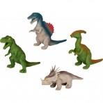 Rex World silikonist pehmed Dinosaurused