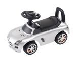 Sun Baby pealeistutav auto Mercedes Benz hõbedane