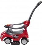 Sun Baby pealeistutav-eeslükatav auto Mega punanae