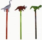 T- Rex harilik pliiats dinosauruse kujuga