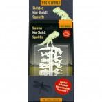 T-Rex World mini skelett - pimedas helendav