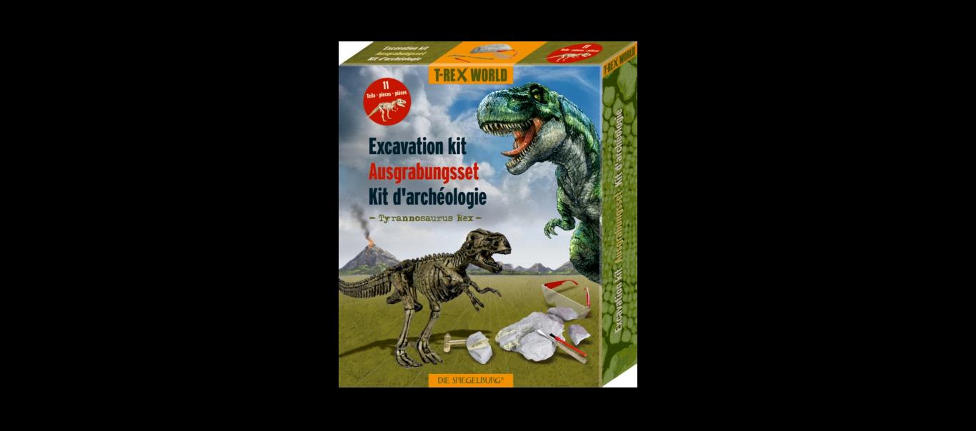 T-Rex World luude väljakaevamiskomplekt 11 osa