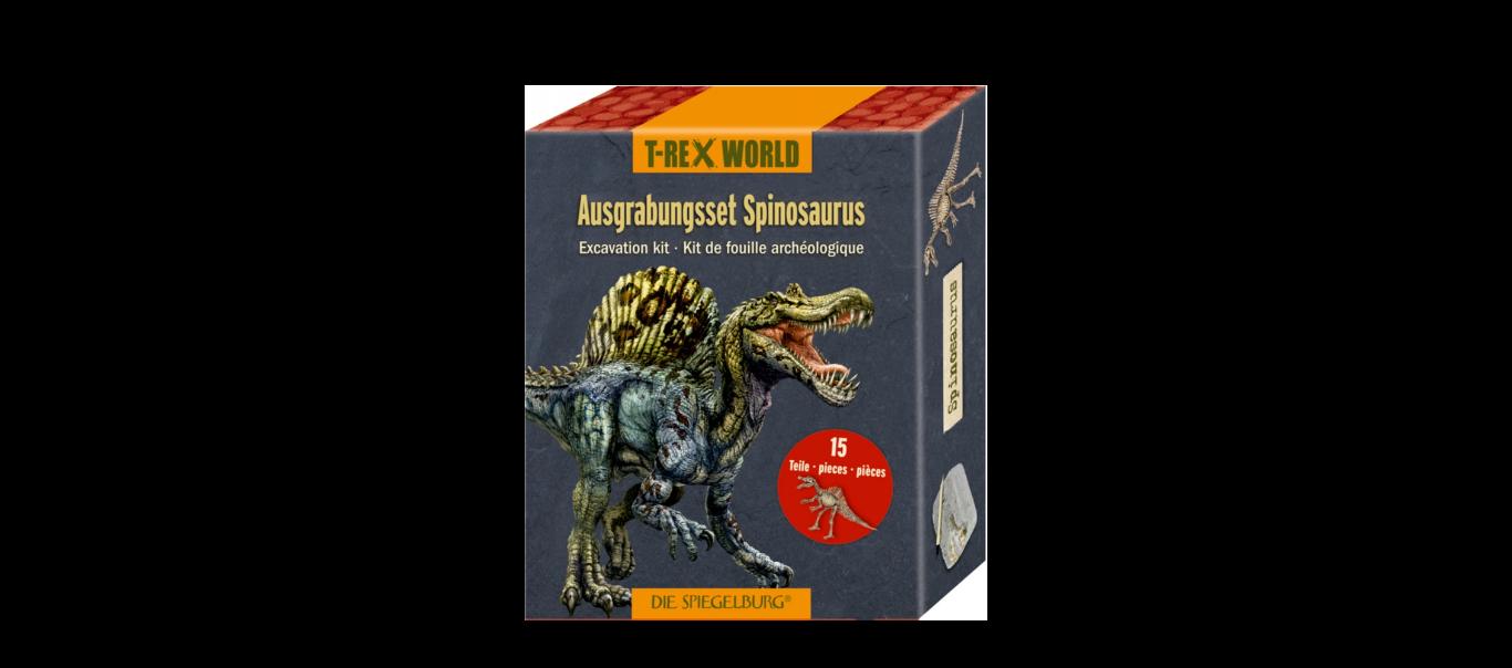 T-Rex World luude väljakaevamiskomplekt Spinosaurus