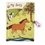 Mudpuppy lukustatav päevik Hobusesõbrad